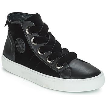 Cipők Női Magas szárú edzőcipők Pataugas Zally Fekete
