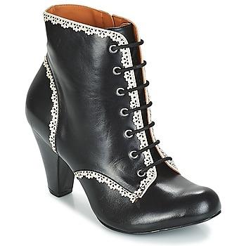 Cipők Női Bokacsizmák Cristofoli KARANA Fekete