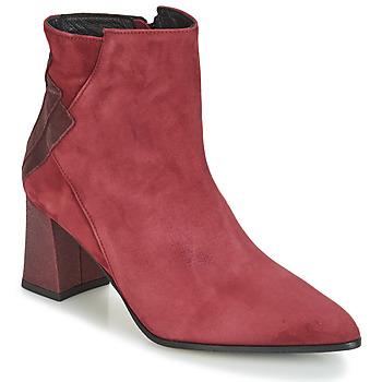 Cipők Női Bokacsizmák Elizabeth Stuart DHEXTER Bordó