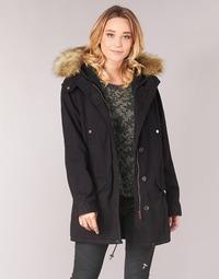 Ruhák Női Parka kabátok Ikks FLARW Fekete