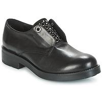 Cipők Női Oxford cipők Tosca Blu FRASER Fekete