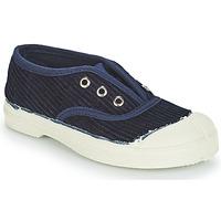 Cipők Gyerek Rövid szárú edzőcipők Bensimon TENNIS ELLY CORDUROY Tengerész