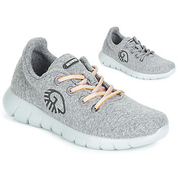 Cipők Női Rövid szárú edzőcipők Giesswein MERINO RUNNERS Szürke