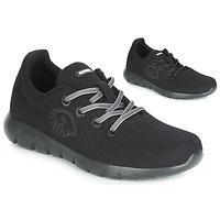 Cipők Női Rövid szárú edzőcipők Giesswein MERINO RUNNERS Fekete