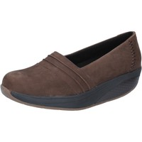 Cipők Női Mokkaszínek Mbt BY686 Barna