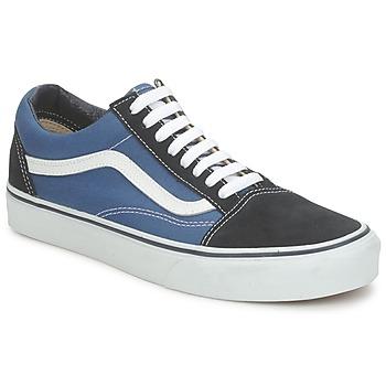 Cipők Rövid szárú edzőcipők Vans OLD SKOOL Kék