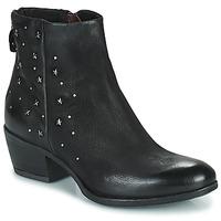 Cipők Női Csizmák Mjus DALLY STAR Fekete