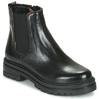 Cipők Női Csizmák Mjus DOBLE CHELS Fekete