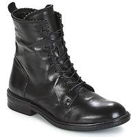 Cipők Női Csizmák Mjus PAL LACE Fekete