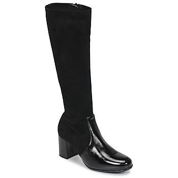 Cipők Női Városi csizmák Unisa ORLANDO Fekete