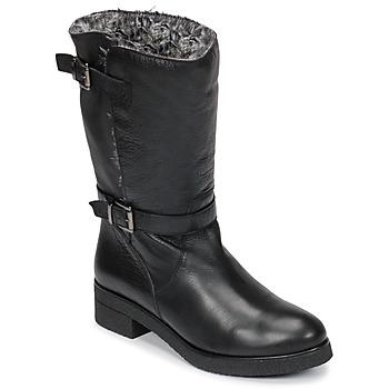 Cipők Női Csizmák Unisa DALI Fekete