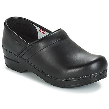 Cipők Klumpák Sanita PROF Fekete