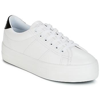 Cipők Női Rövid szárú edzőcipők No Name PLATO SNEAKER Fehér