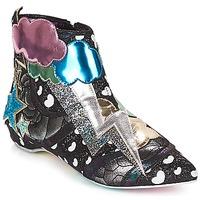 Cipők Női Csizmák Irregular Choice Electric boots Fekete / Ezüst