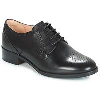 Cipők Női Oxford cipők Clarks NETLEY ROSE Fekete