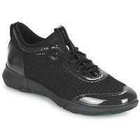 Cipők Női Rövid szárú edzőcipők Geox D NEBULA X Fekete
