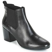 Cipők Női Bokacsizmák Geox D NEW LUCINDA Fekete
