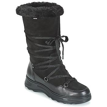 Cipők Női Hótaposók Geox D HOSMOS B ABX Fekete