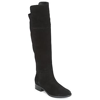 Cipők Női Combcsizmák Geox D FELICITY Fekete