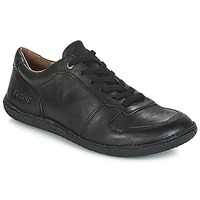 Cipők Női Oxford cipők Kickers HOME Fekete