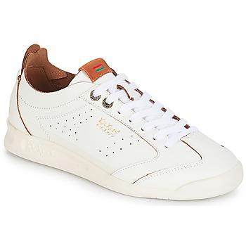 Cipők Női Rövid szárú edzőcipők Kickers KICK 18 Fehér