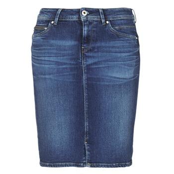 Ruhák Női Szoknyák Pepe jeans TAYLOR Kék / Átlagos