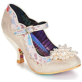 Cipők Női Félcipők Irregular Choice Shoesbury Krém
