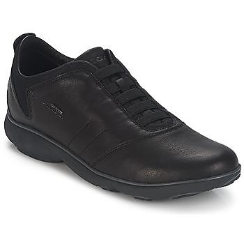 Cipők Férfi Rövid szárú edzőcipők Geox NEBULA B Fekete