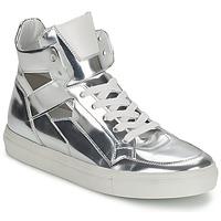 Cipők Női Magas szárú edzőcipők Kennel + Schmenger TONIA Ezüst