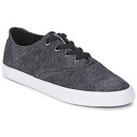 Cipők Női Rövid szárú edzőcipők Supra WRAP Fekete  / Fehér