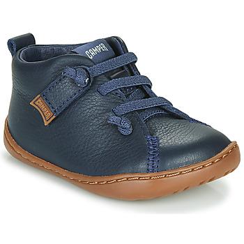 Cipők Fiú Rövid szárú edzőcipők Camper PEU CAMI Kék