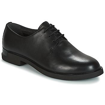 Cipők Női Oxford cipők Camper IMAN Fekete