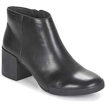 Cipők Női Bokacsizmák Camper LOTTA Fekete