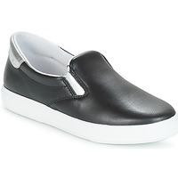 Cipők Női Rövid szárú edzőcipők Yurban JESSY Fekete