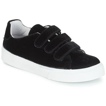 Cipők Női Rövid szárú edzőcipők Yurban JOZZY Fekete