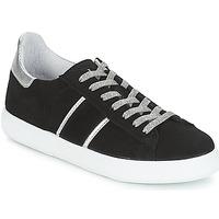 Cipők Női Rövid szárú edzőcipők Yurban JEMMY Fekete