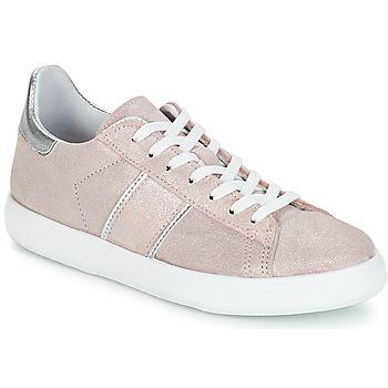 Cipők Női Rövid szárú edzőcipők Yurban JEMMY Rózsaszín