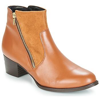 Cipők Női Bokacsizmák So Size JOCASSU Teve