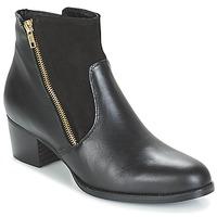 Cipők Női Bokacsizmák So Size JOPESE Fekete