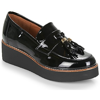 Cipők Női Mokkaszínek Fericelli JOLLEGNO Fekete