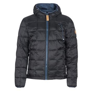 Ruhák Férfi Steppelt kabátok 80DB Original CHILL18 Fekete  / Tengerész