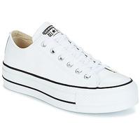 Cipők Női Rövid szárú edzőcipők Converse CHUCK TAYLOR ALL STAR LIFT CLEAN OX Fehér