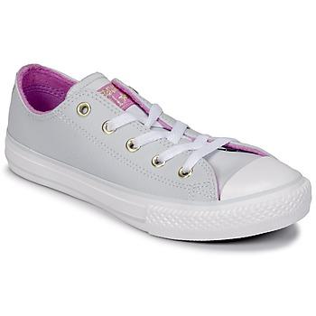 Cipők Lány Magas szárú edzőcipők Converse CHUCK TAYLOR ALL STAR HI Tiszta / Platina / Fukszia / Világító / Fehér