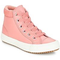 Cipők Lány Magas szárú edzőcipők Converse CHUCK TAYLOR ALL STAR PC BOOT HI Rozsda vörös / Rózsaszín / Égett / Karamell / Rozsda vörös / Róz
