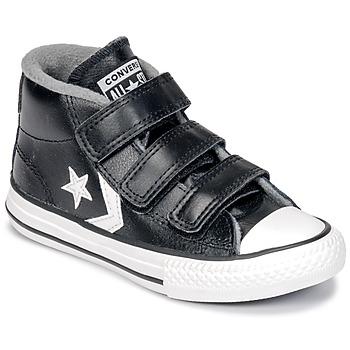 Cipők Gyerek Magas szárú edzőcipők Converse STAR PLAYER 3V MID Fekete / Mason / Vintage / Fehér