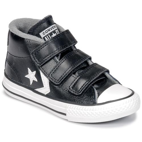 b7decd5d68 Cipők Gyerek Magas szárú edzőcipők Converse STAR PLAYER 3V MID Fekete /  Mason / Vintage /