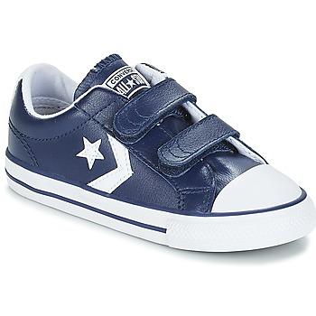 Cipők Gyerek Rövid szárú edzőcipők Converse STAR PLAYER EV V OX Sötétkék / Fehér