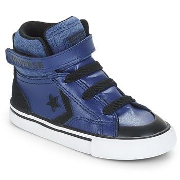 Cipők Fiú Magas szárú edzőcipők Converse PRO BLAZE STRAP HI Kék