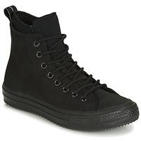 Cipők Férfi Magas szárú edzőcipők Converse CHUCK TAYLOR ALL STAR WP BOOT LEATHER HI Fekete