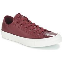 Cipők Női Rövid szárú edzőcipők Converse CHUCK TAYLOR ALL STAR LEATHER OX Bordó